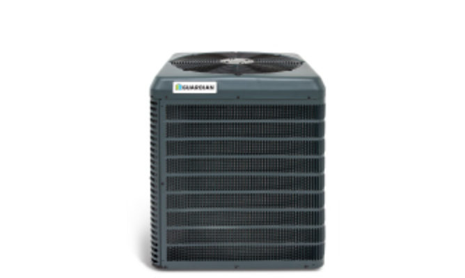 • 13 SEER • 1.5–5 Tons • Tube-in-fin Coil • Sound Level 76 dBA • 10 Year Compressor Warranty • 10 Year Parts Warranty